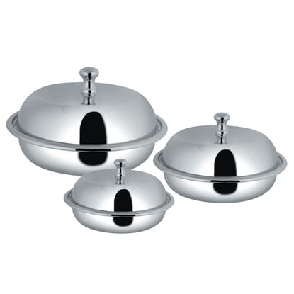 Picture of AWKENOX ROUND ENTREE DISH WITH COVER(3POR)