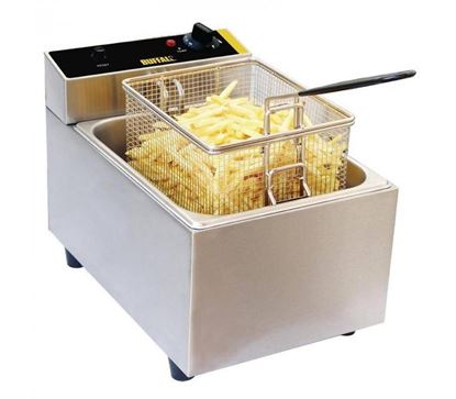 Picture of ELINVER FRYER 5LTR SINGLE  T81F