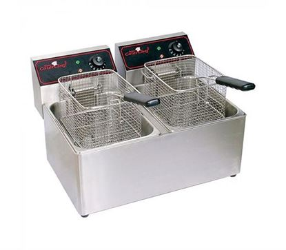 Picture of ELINVER FRYER 8LTR DOUBLE  88T (TIMER)
