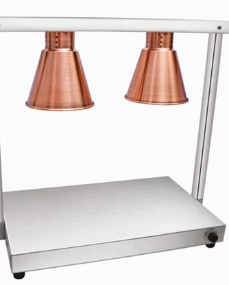 Picture of ELINVER FOOD WARMER 2 LAMP