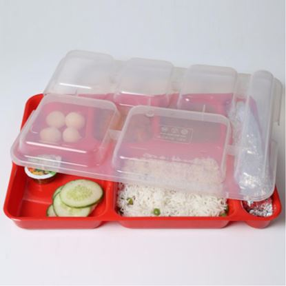 Picture of KENFORD COMPARTMENT TRAY 10X14 LID