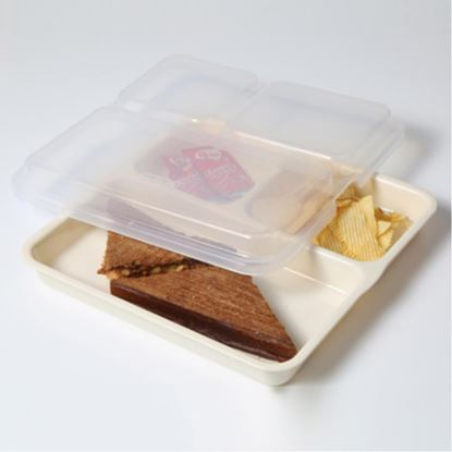 Picture of KENFORD COMPARTMENT TRAY 9X9 LID