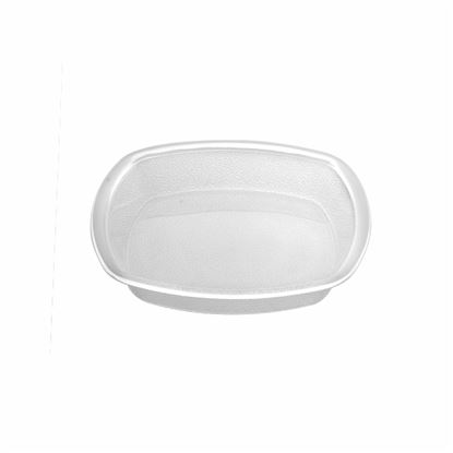 """Picture of MUSKAN CHAT PLATE SQ 6""""(CLEAR)"""