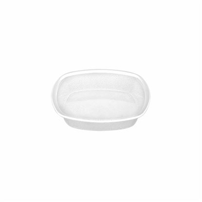 """Picture of MUSKAN CHAT PLATE SQ 5""""(CLEAR)"""
