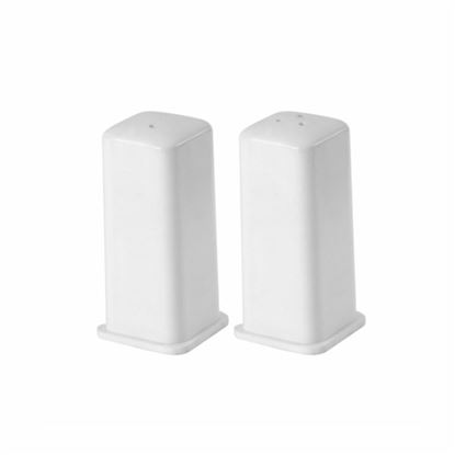 Picture of MUSKAN SALT & PEPPER SET SQUARE (WHITE)