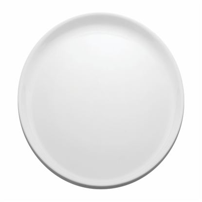 "Picture of MUSKAN ROUND PLATE 13"" (WHITE)"