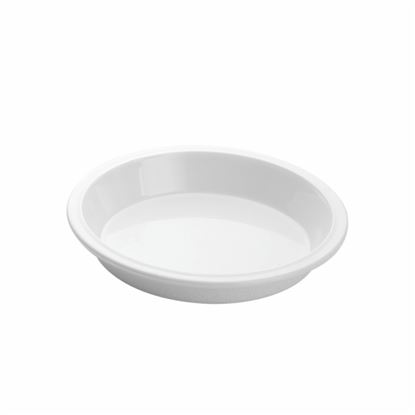 """Picture of MUSKAN CHAT PLATE RND 6""""(WHITE)"""