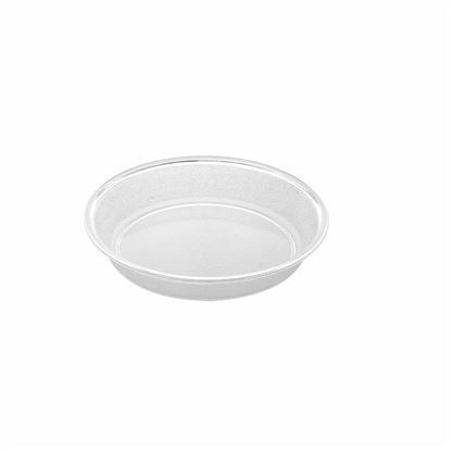 "Picture of MUSKAN CHAT PLATE RND 5""(CLEAR)"