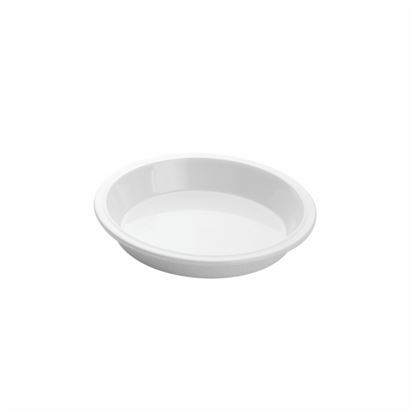 """Picture of MUSKAN CHAT PLATE RND 5""""(WHITE)"""