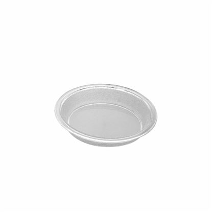 """Picture of MUSKAN CHAT PLATE RND 4""""(CLEAR)"""