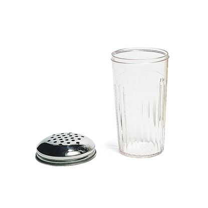 Picture of MUSKAN SALT & PEPPER SET ROUND (CLEAR)