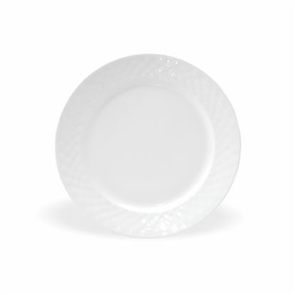 """Picture of BONE-CHINA CHEKERS PLATE 10"""""""
